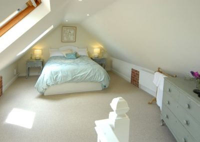 Bedroom of Holly Cottage in Broadway, Cotswolds