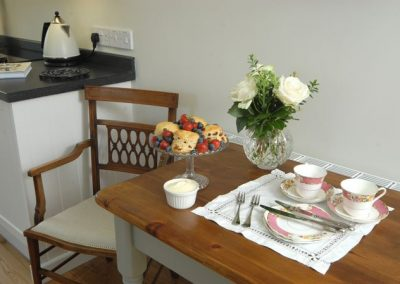 Dining Area of Holly Cottage in Broadway, Cotswolds